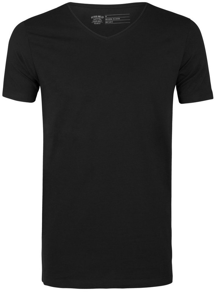Petrol Industries 2er-Pack T-Shirts in black