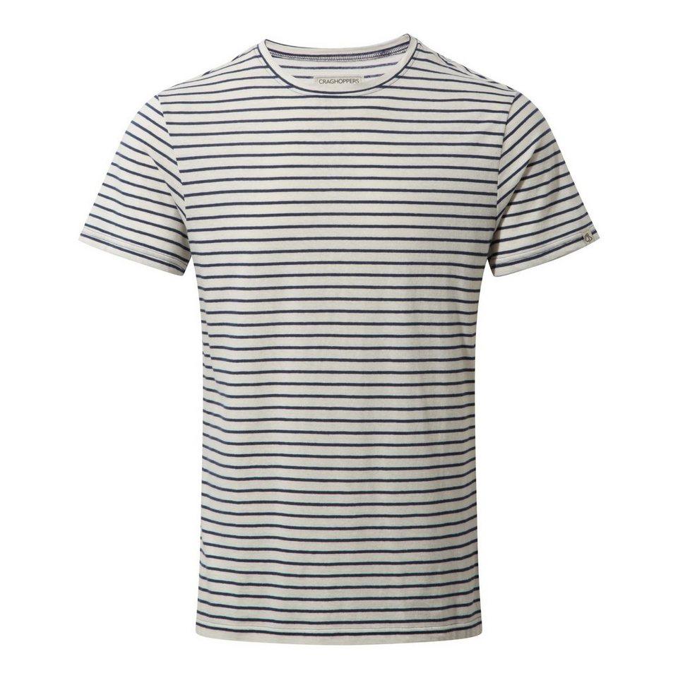 Craghoppers Reise T-Shirt »Bernard Herren« in Night Blue Combo