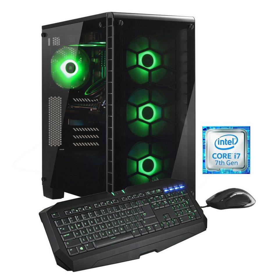 Hyrican Gaming PC Intel® i7-7700K, 32GB, GeForce GTX® 1080 »Crystal Xtreme 5460« - Preisvergleich