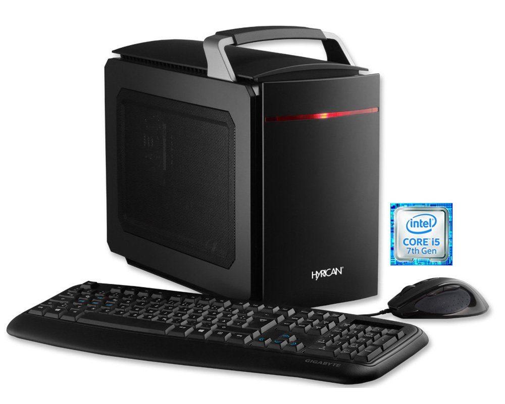Hyrican Gaming PC Intel® i5-7500, 8GB, SSD, HDD, GeForce® GTX 1070 »GameBox 5468«