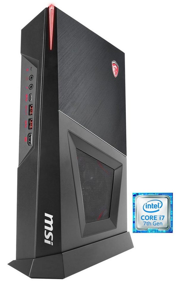msi gaming pc intel i7 7700 8gb ssd hdd geforce. Black Bedroom Furniture Sets. Home Design Ideas
