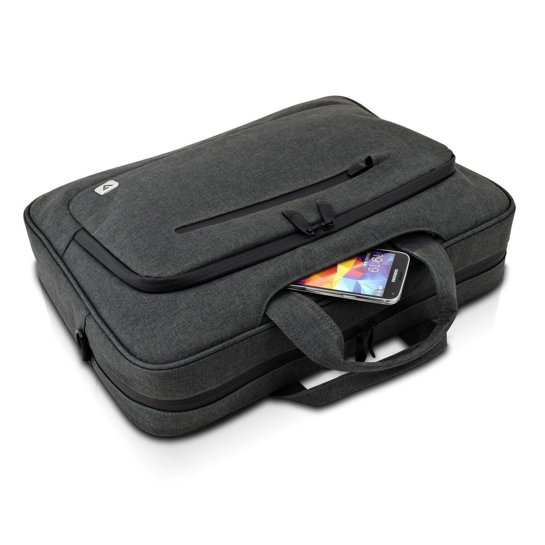 V7 Tasche »15.6 Zoll Slim Laptoptasche mit Schultergurt«