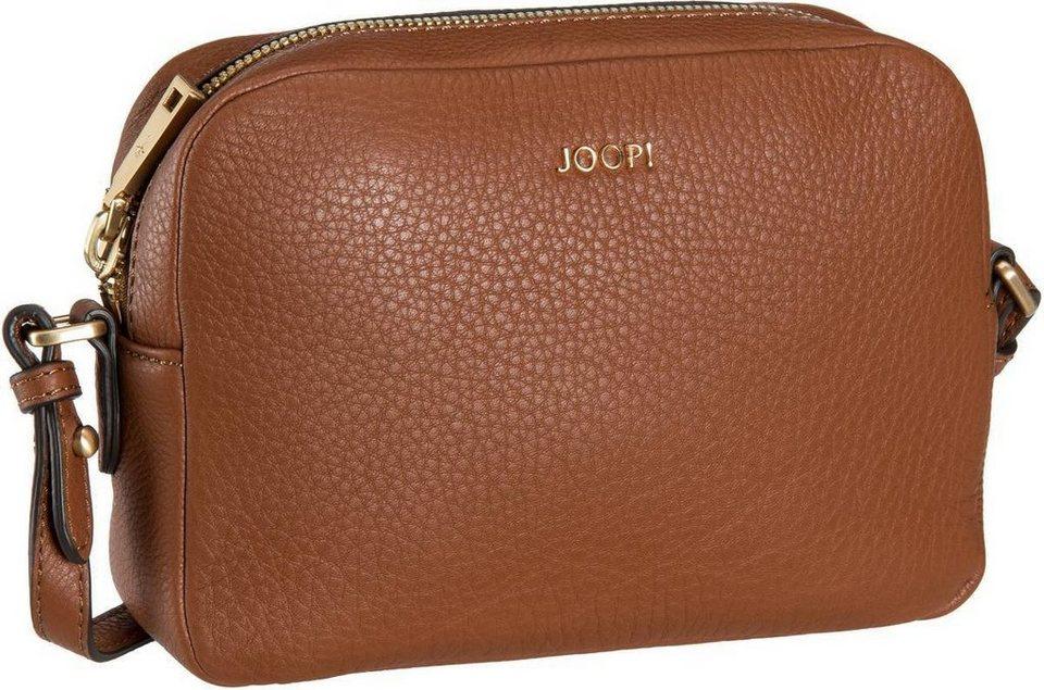 Joop Cloe Nature Grain Shoulder Bag Small in Cognac