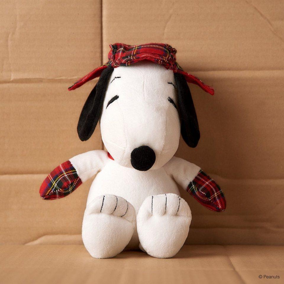 BUTLERS PEANUTS »Schotten Snoopy« in weiss