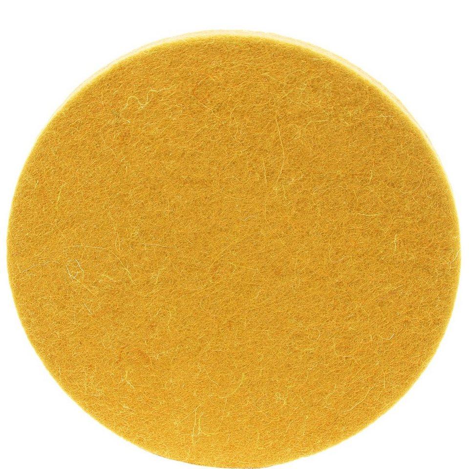 BUTLERS FELTO »Untersetzer« in gelb