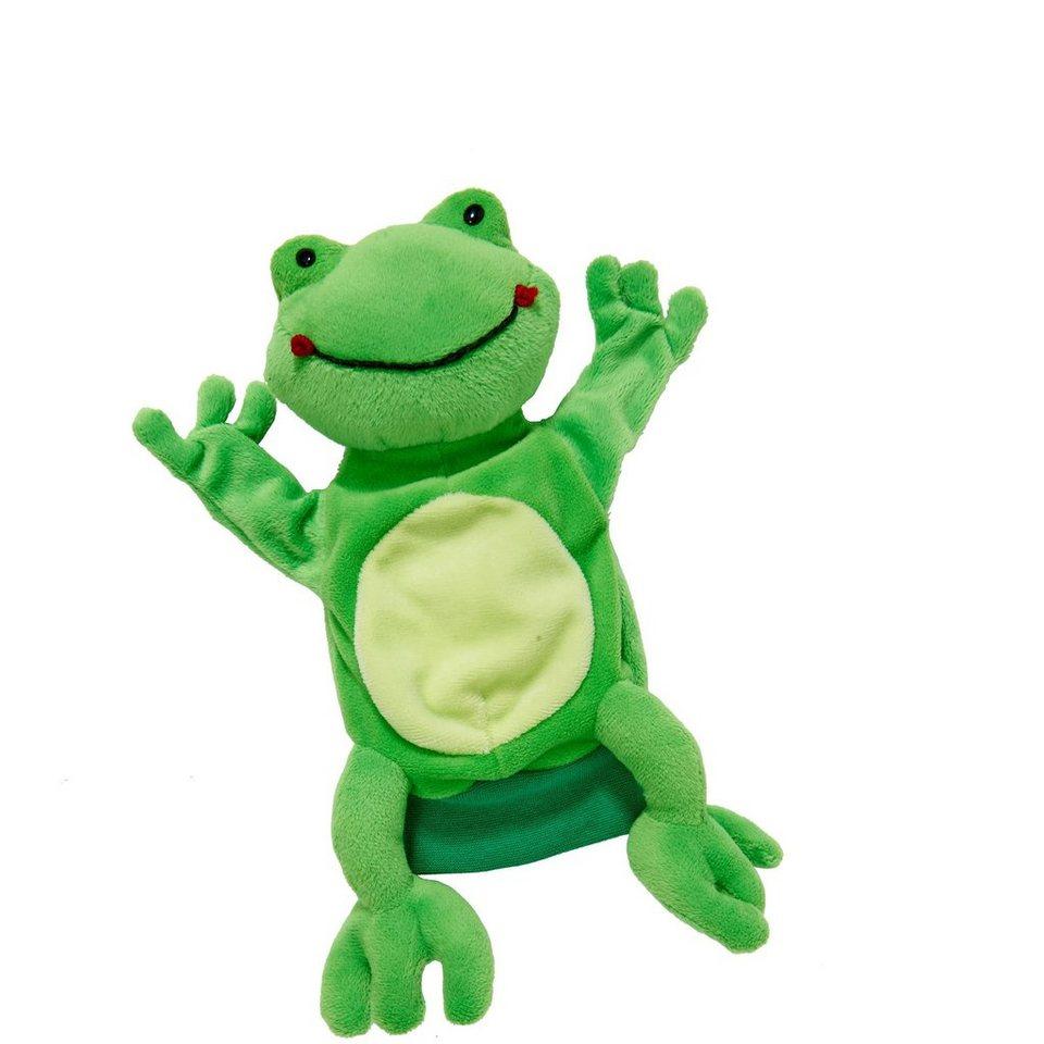 BUTLERS WILD GUYS »Handpuppe Frosch« in gruen