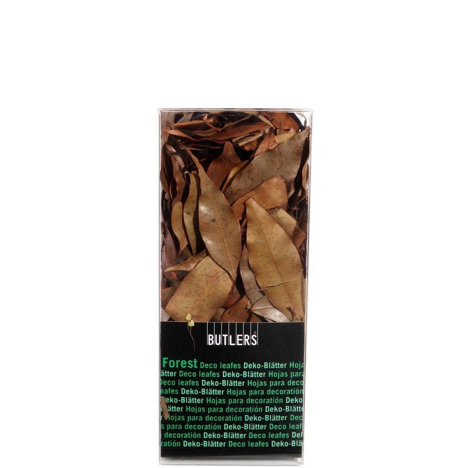 BUTLERS FOREST »Deko Blätter« in braun