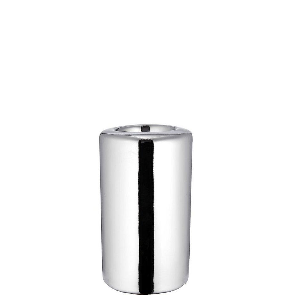 BUTLERS SILVER STONE »Teelichthalter groß« in silber