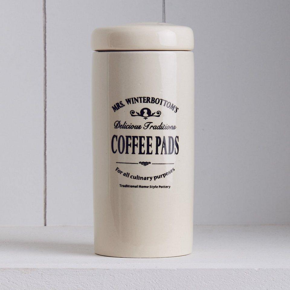 BUTLERS MRS. WINTERBOTTOM'S »Kaffeepaddose« in Creme