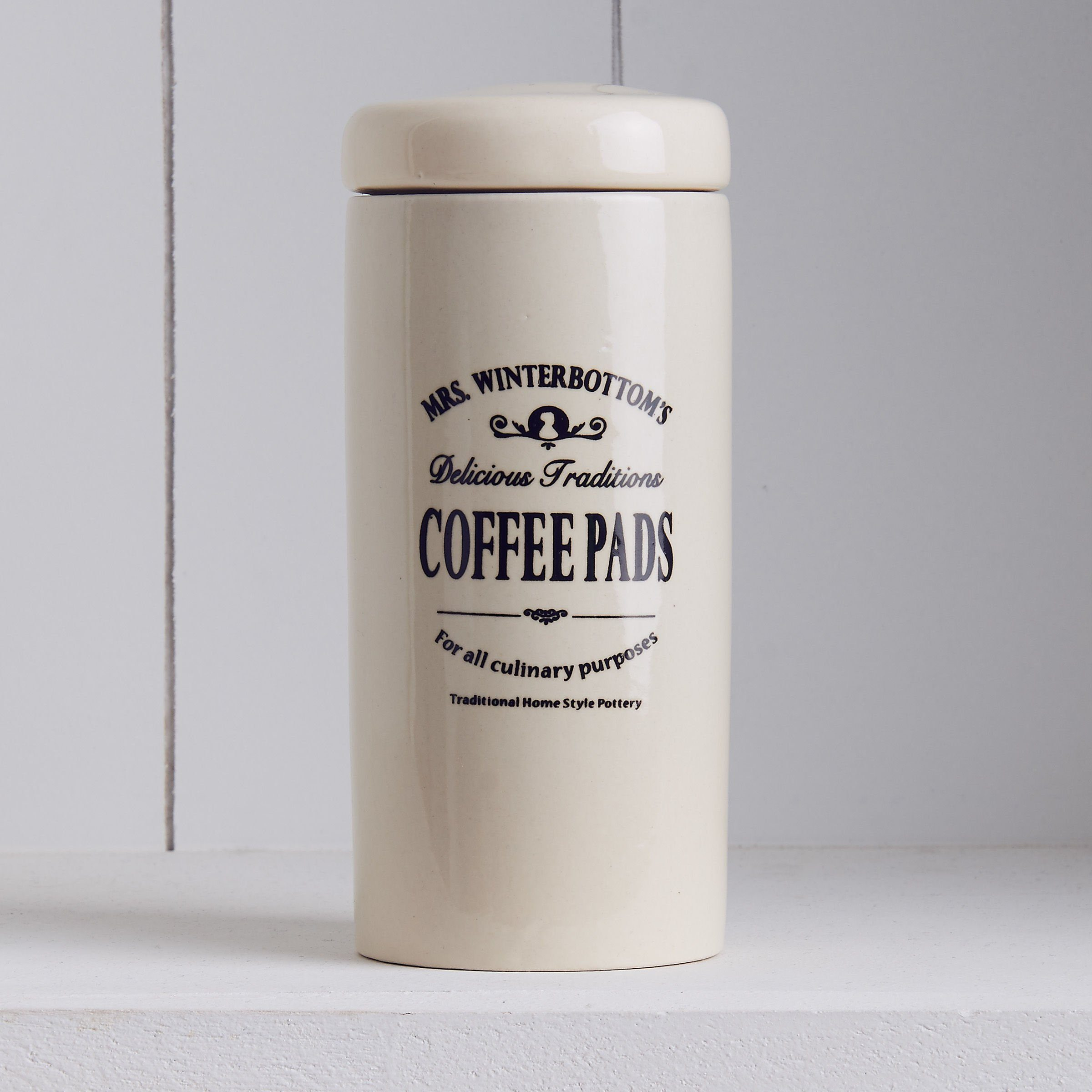 BUTLERS MRS. WINTERBOTTOM'S »Kaffeepaddose«