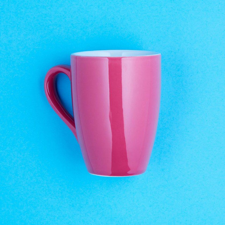 BUTLERS MIX IT! »Henkelbecher« in pink
