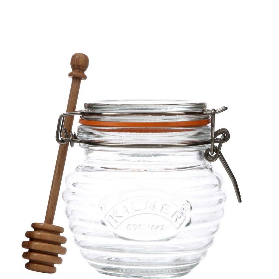 BUTLERS REFRESH »Honig Topf mit Löffel« in klar