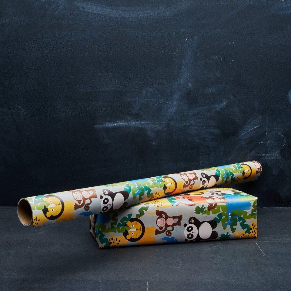 BUTLERS WILD THINGS »Geschenkpapier« in bunt