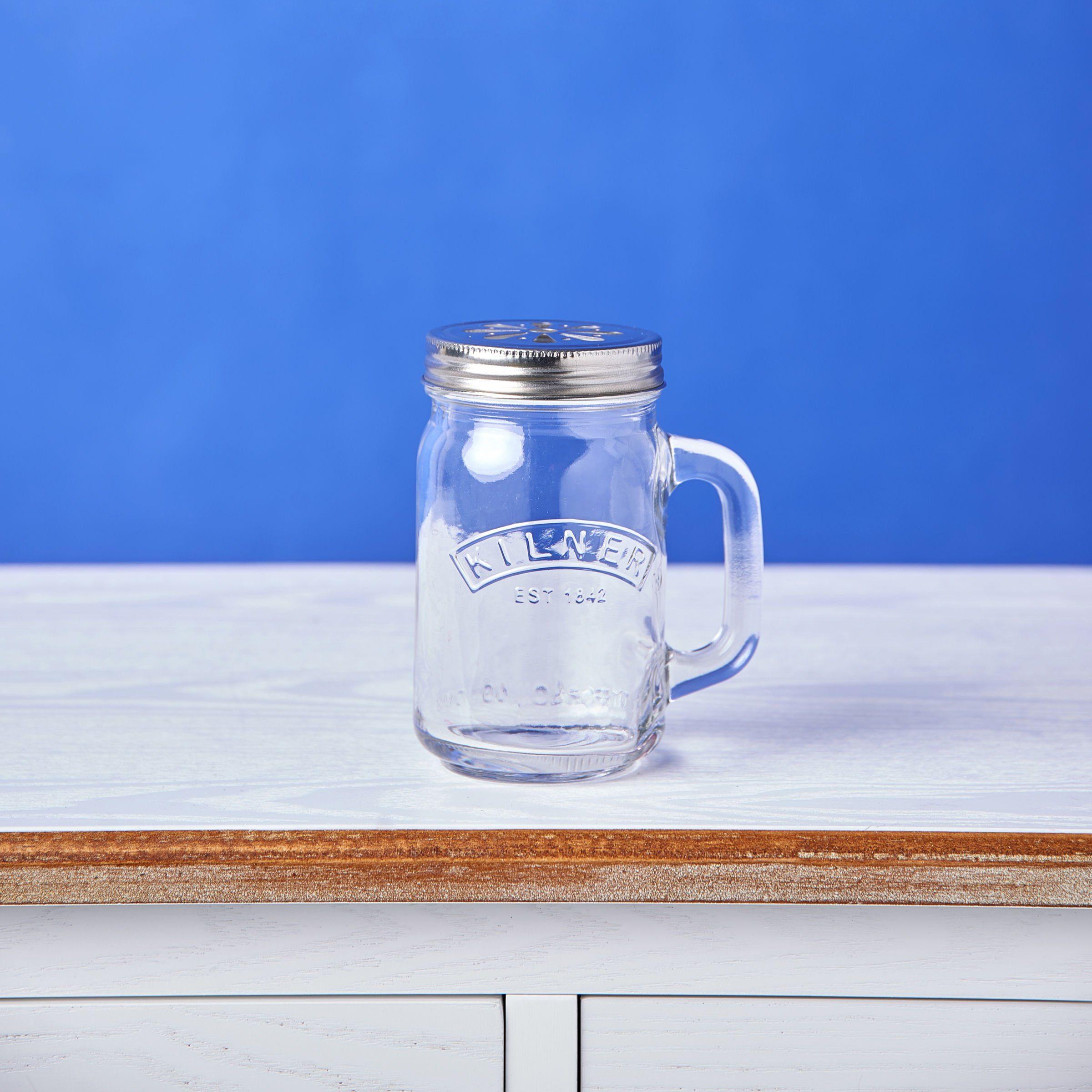 BUTLERS REFRESH »Trinkglas mit Deckel«