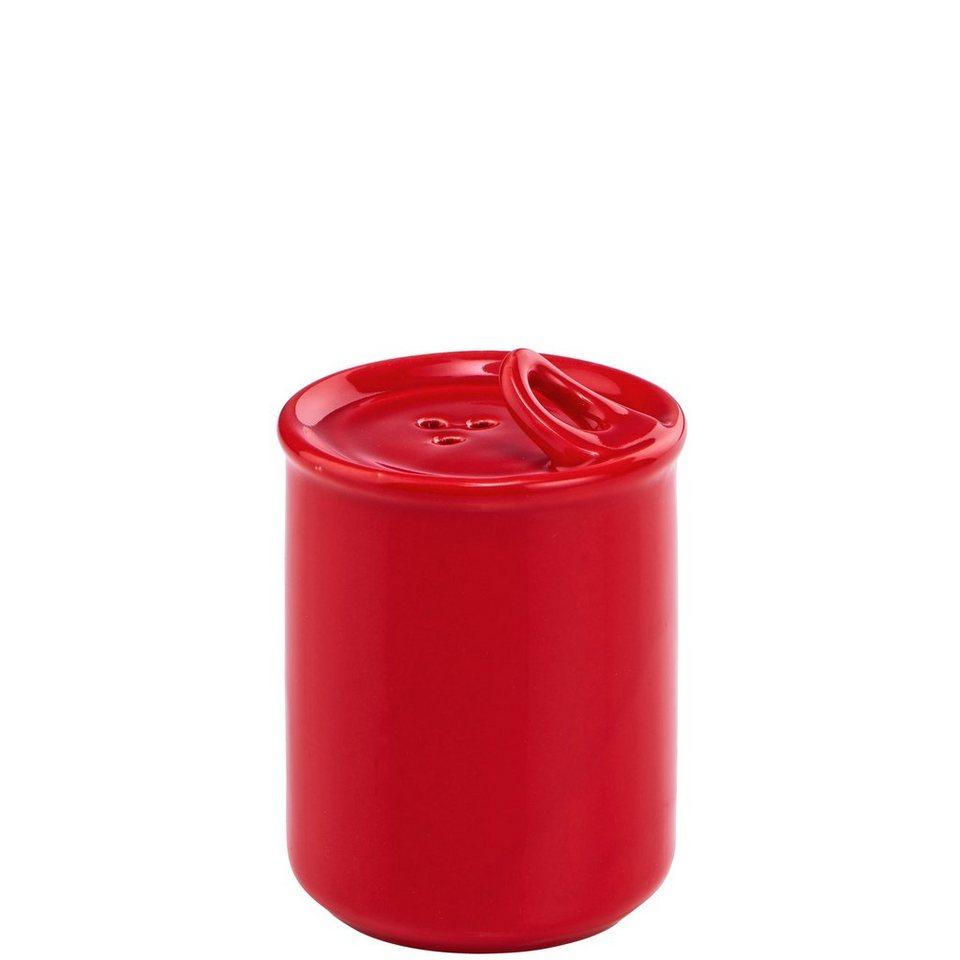 BUTLERS TIN TIN »Salz-& Pfefferstreuer Konservendose« in rot-gruen