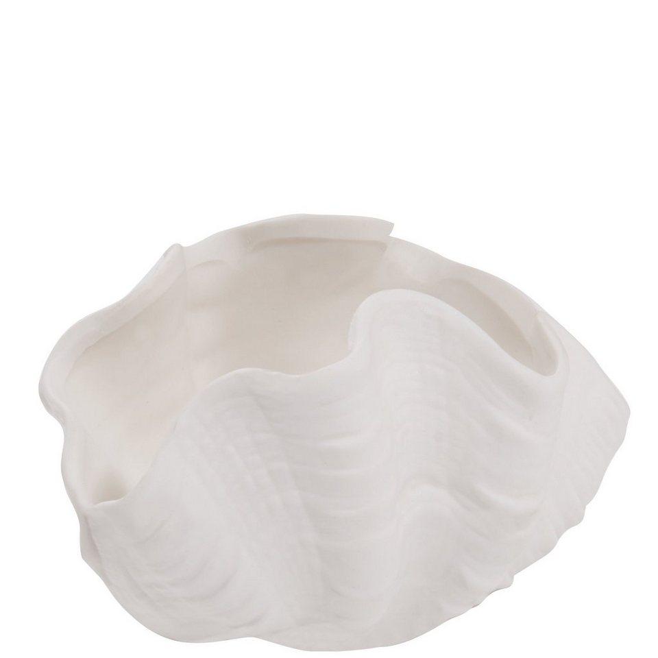 BUTLERS PEARLY BEACH »Teelichthalter Muschel« in weiss