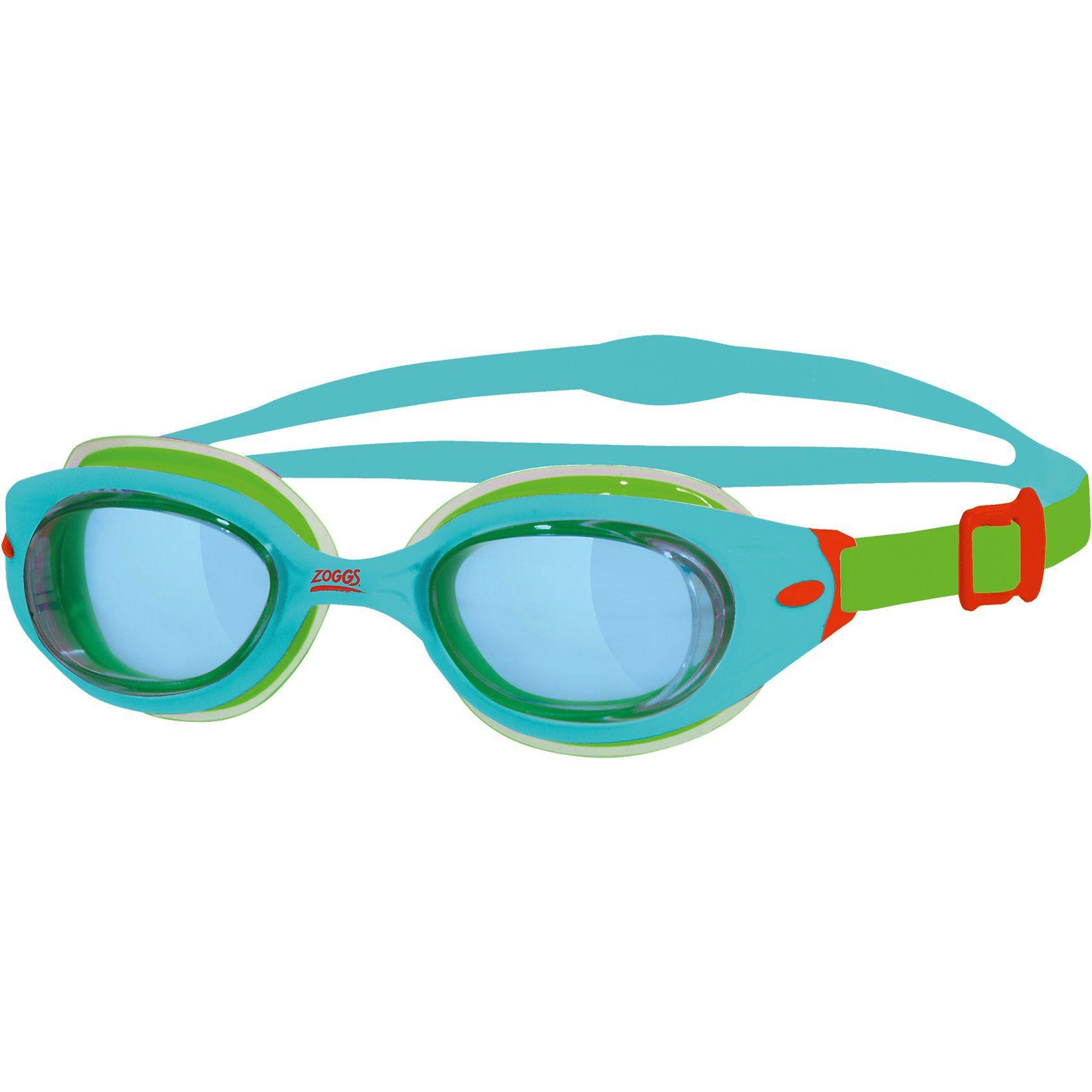 Zoggs Schwimmbrille Little Sonic Air, blau