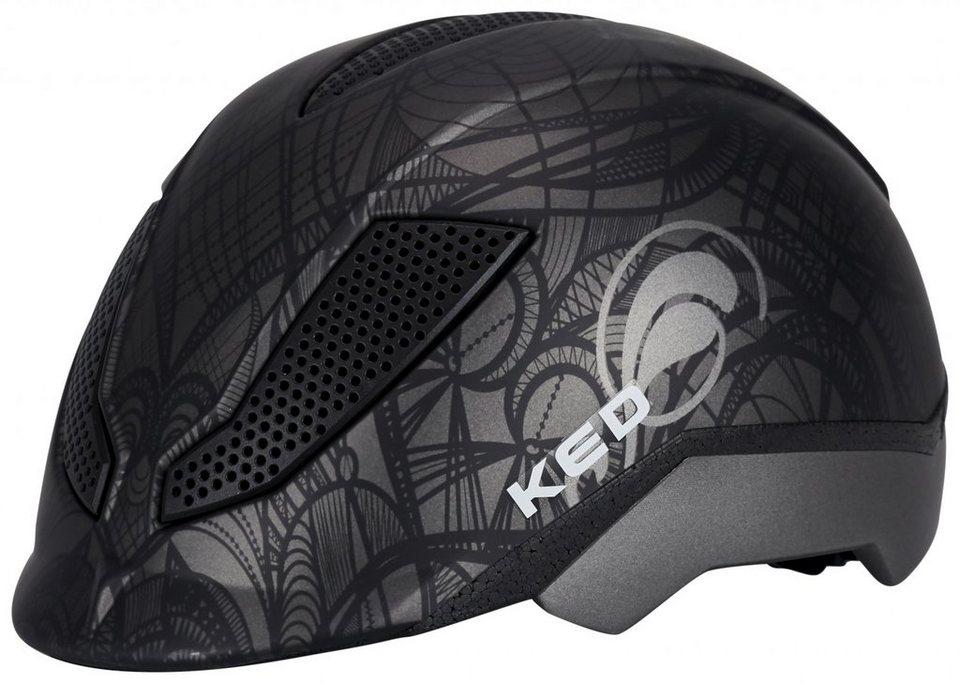 KED Fahrradhelm »Pina Ride & Bike Helmet Kids« in schwarz