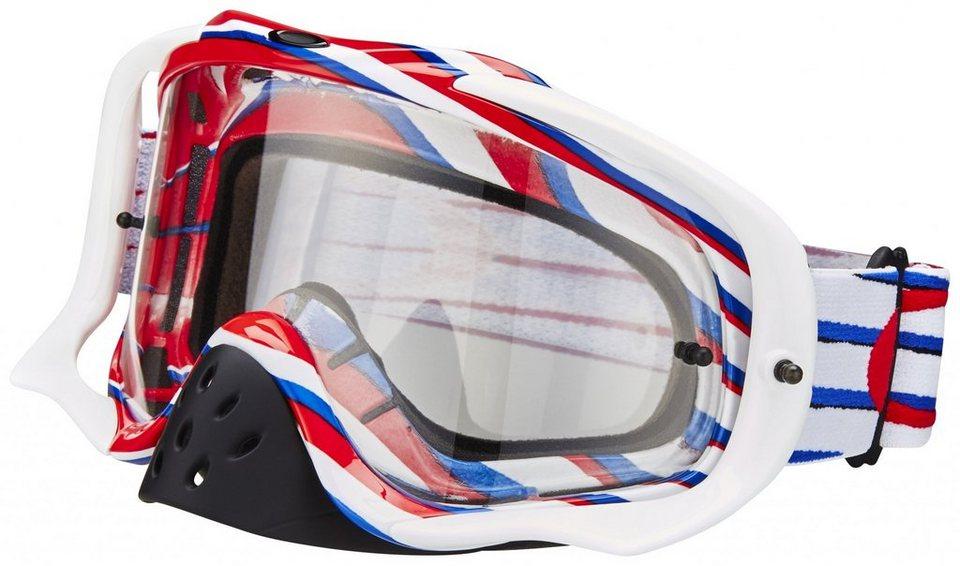 Oakley Radsportbrille »Crowbar MX« in weiß