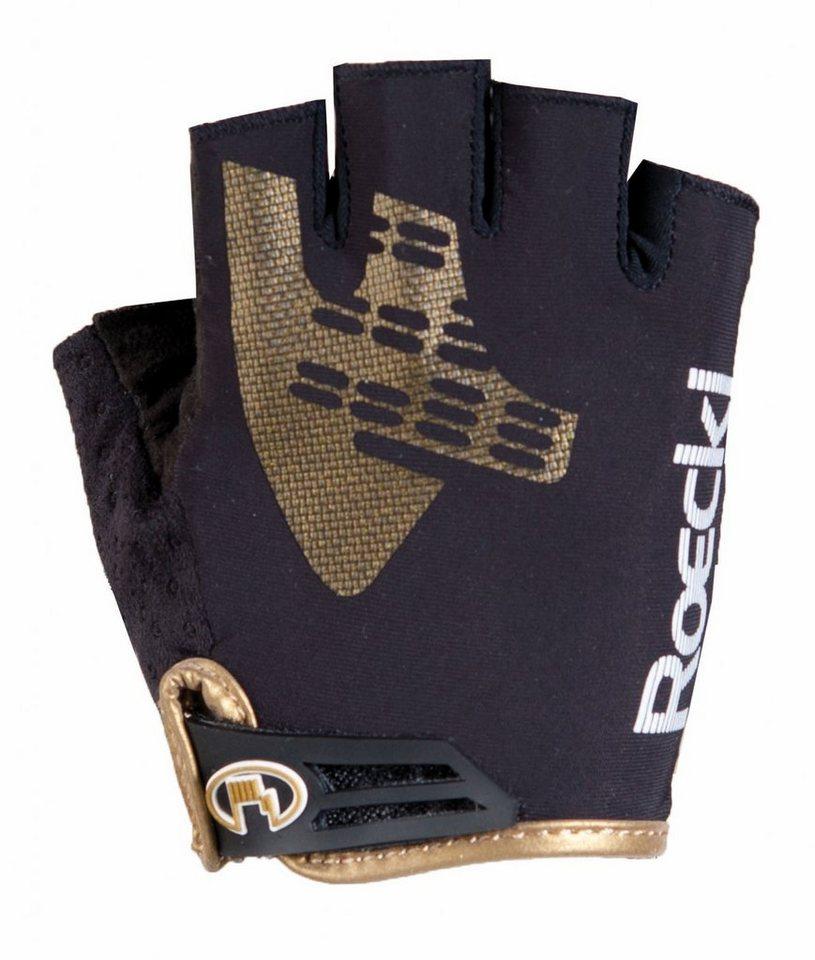 Roeckl Fahrrad Handschuhe »Igura Handschuhe« in schwarz