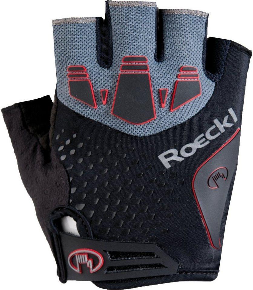Roeckl Fahrrad Handschuhe »Indal Handschuhe« in schwarz