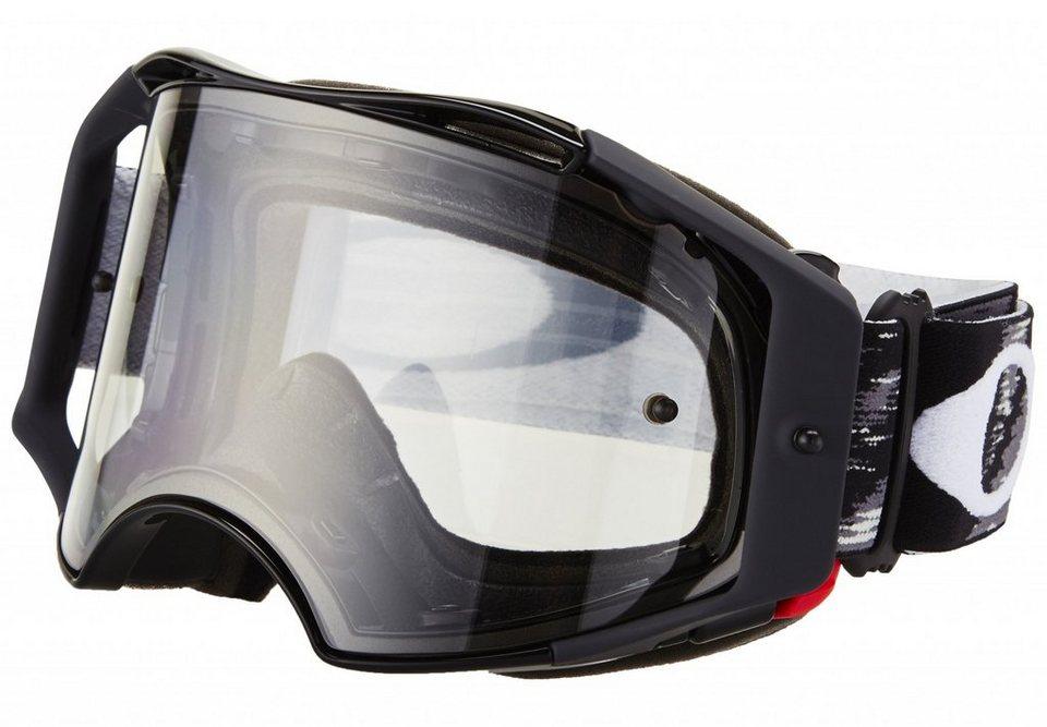 Oakley Radsportbrille »Airbrake MX« in schwarz