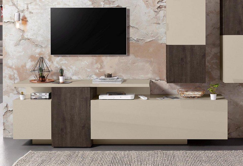 tecnos xxl lowboard breite 220 cm online kaufen otto. Black Bedroom Furniture Sets. Home Design Ideas