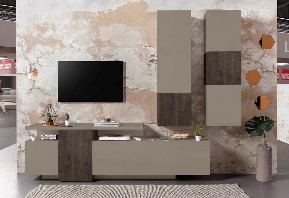 Wohnwand italian design  Tecnos Wohnwand (3-tlg.) online kaufen | OTTO