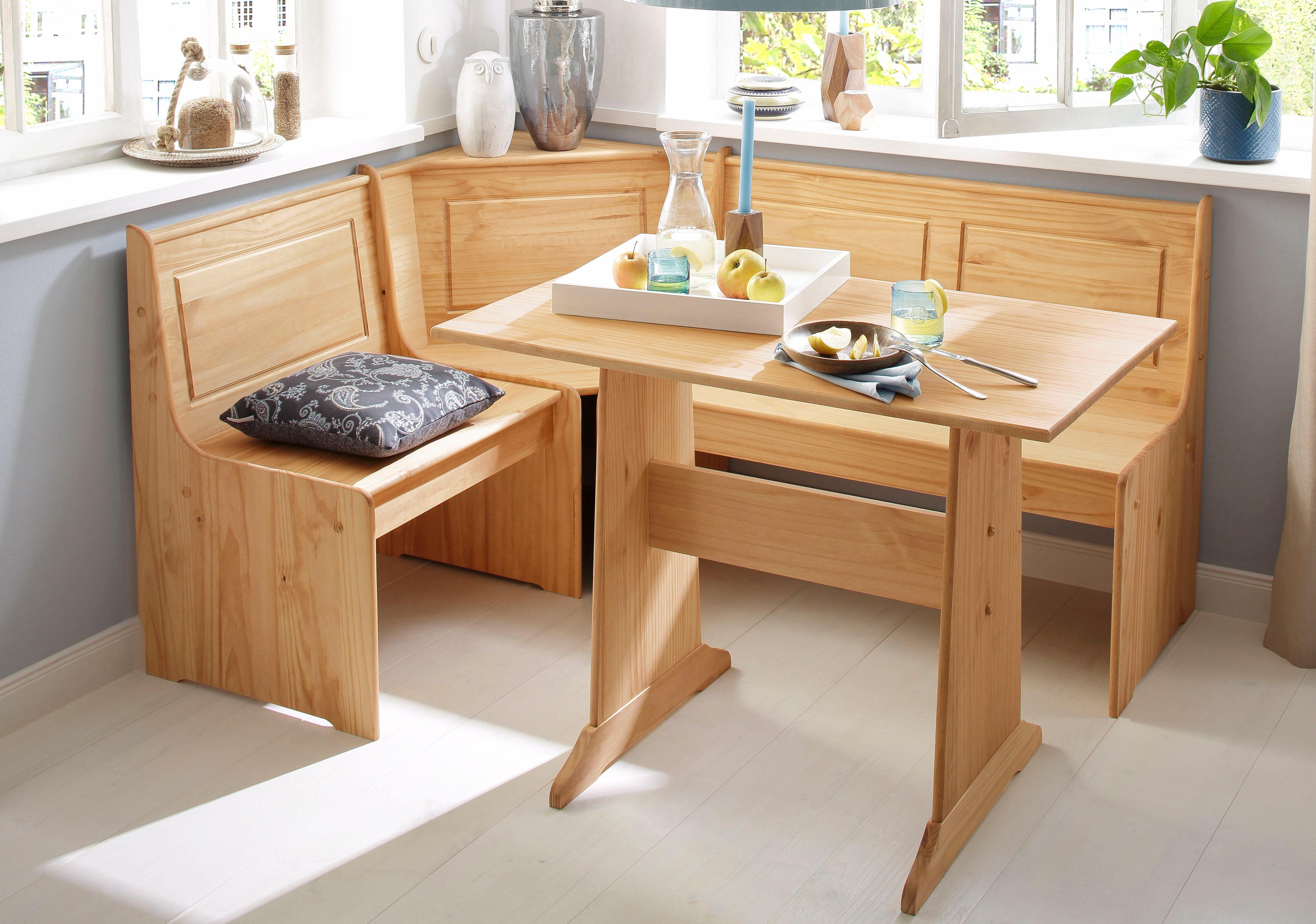 Home affaire Essgruppe »Sascha«, mit Tisch und Truhen Eckbank online kaufen | OTTO