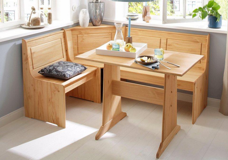 Home affaire Essgruppe Sascha mit Tisch und Truhen