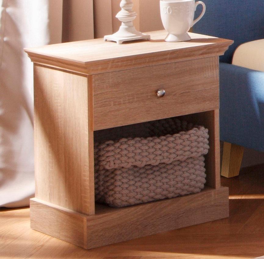 home affaire nachttisch binz breite 45 cm otto. Black Bedroom Furniture Sets. Home Design Ideas