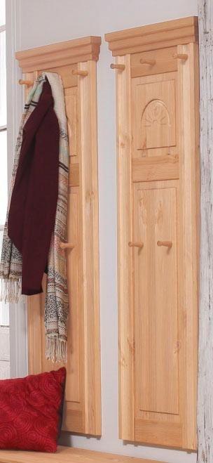 home affaire set garderobenpaneele m nchen 2 tlg mit dekorativen fr sungen online kaufen. Black Bedroom Furniture Sets. Home Design Ideas