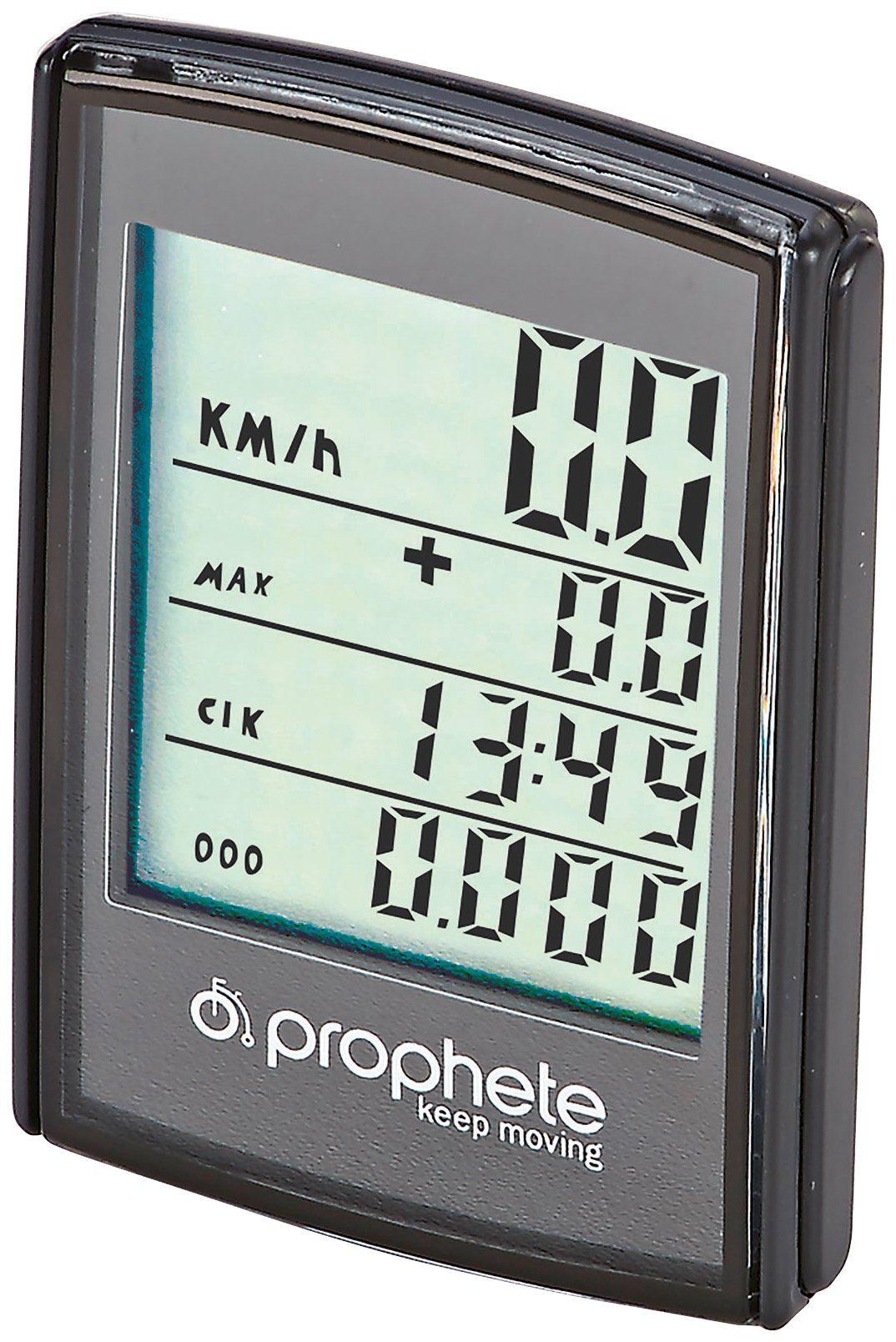 PROPHETE Fahrradcomputer »0528«, mit XL Display