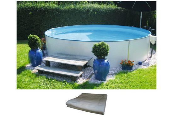 BWT - Best Water Technology Rundpool »Premium«, versch. Größen, Höhe: 120 cm, inkl. Bodenschutzvlies