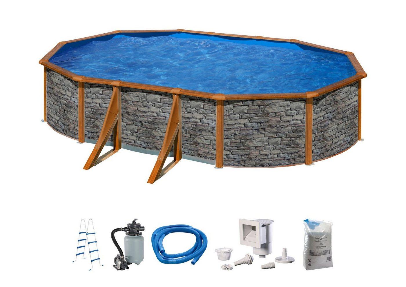 Pool steinoptik machen sie den preisvergleich bei nextag for Pool in steinoptik