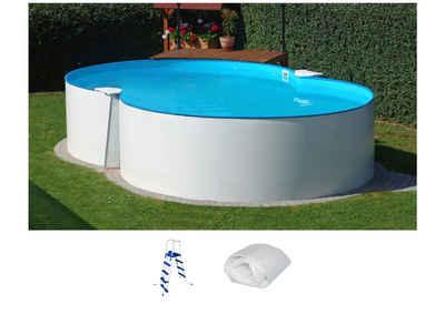 Summer Fun Set: Achtformpool »Standard«, B/L/H: 300/470/90 cm, 3-tlg. Sale Angebote Roggosen