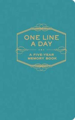 Gebundenes Buch »One Line a Day«