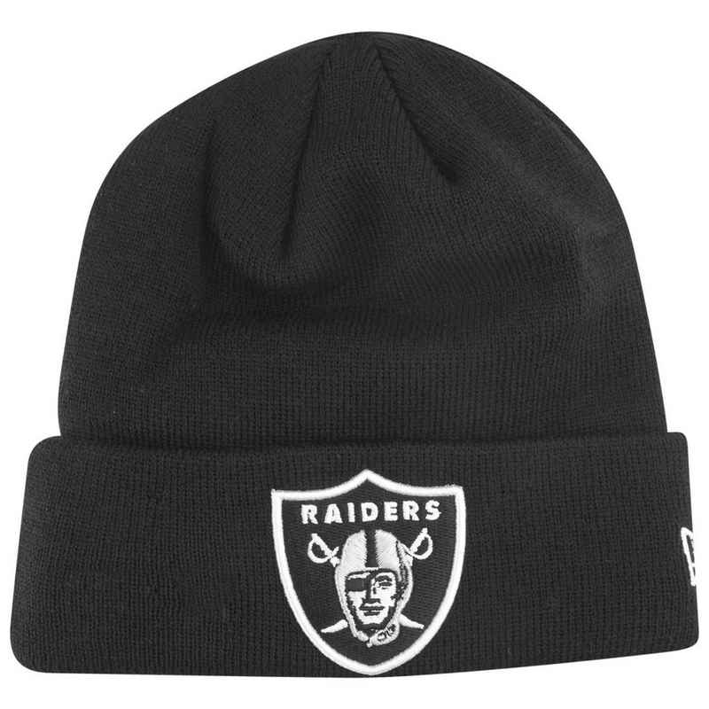 New Era Fleecemütze »Beanie CUFF Oakland Raiders«