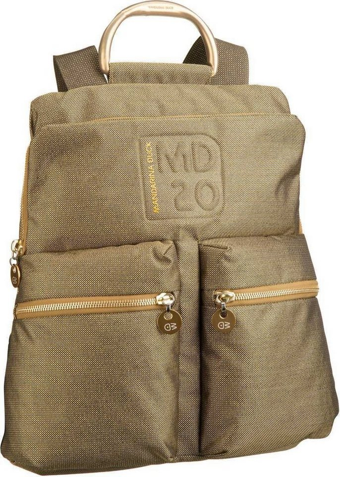 Mandarina Duck MD20 LUX Backpack TZ4 in Lemon Gold