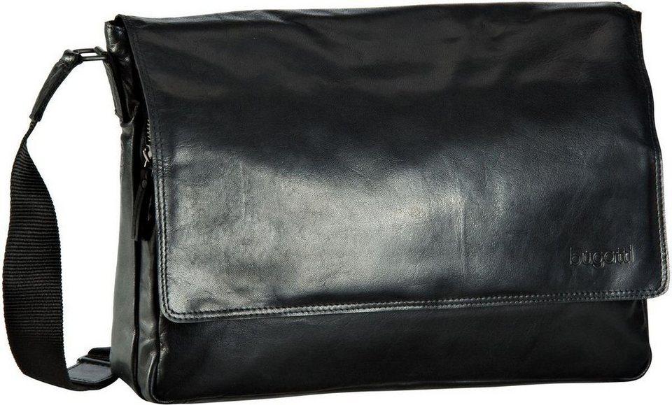 Bugatti Vita Messenger Bag in Schwarz