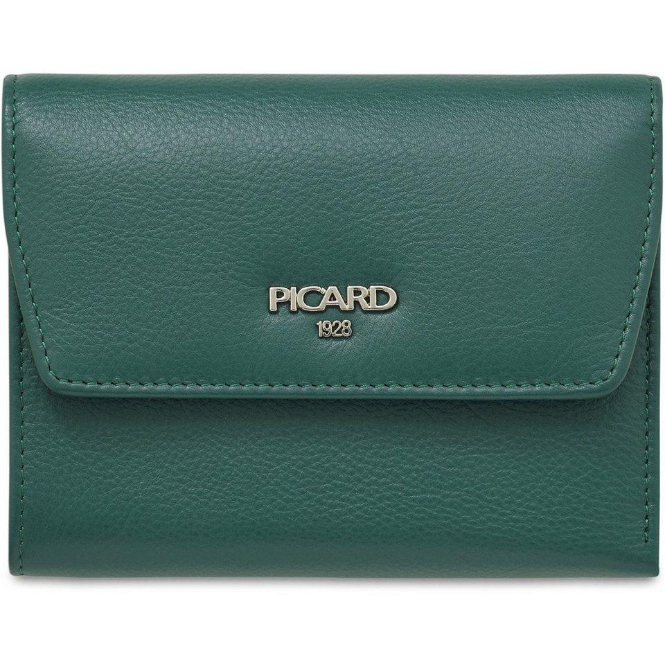 Picard Bingo Geldbörse Leder 13 cm in smaragd