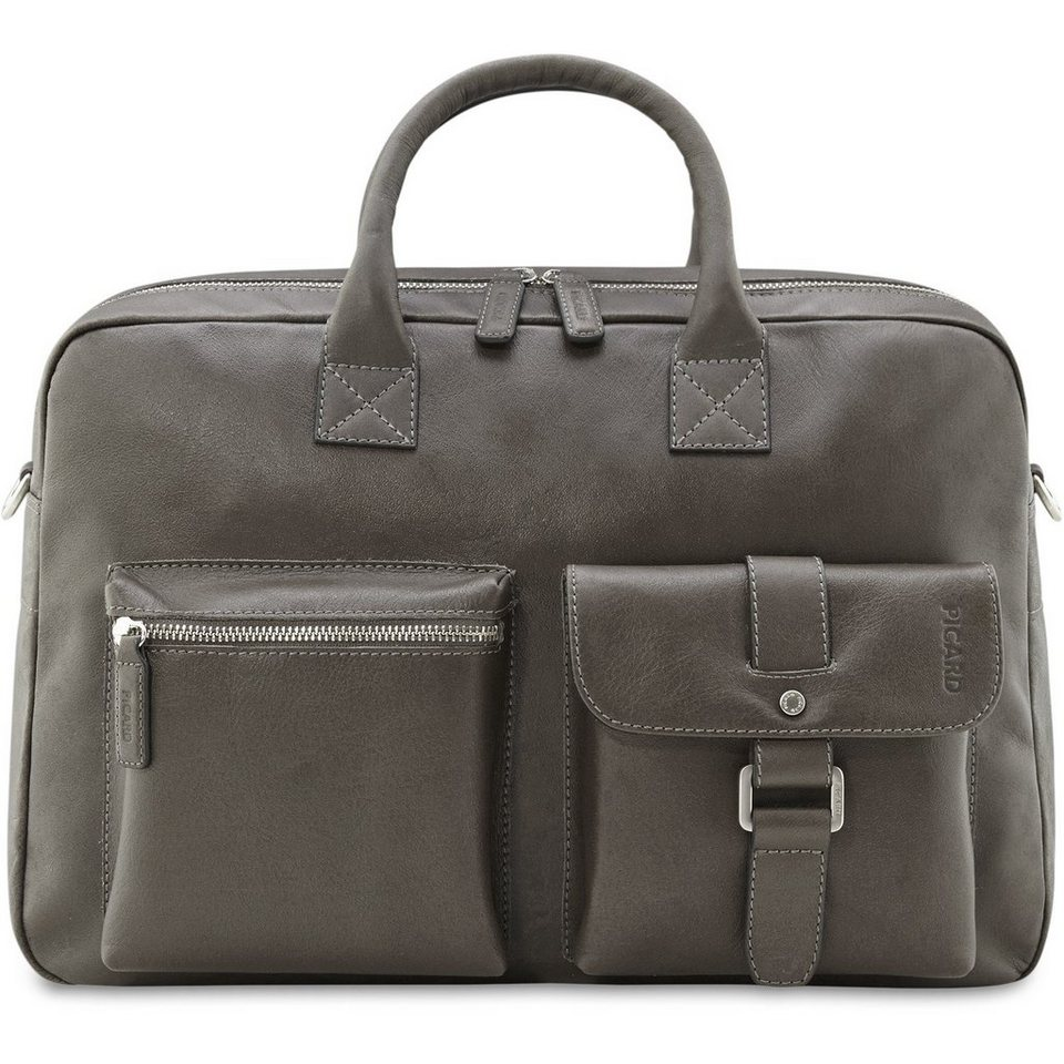 Picard Picard Buddy Business-Tasche Leder 41 cm in graphit
