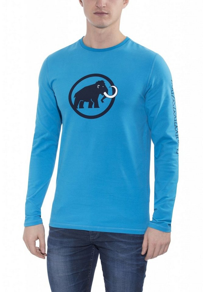 Mammut Sweatshirt »Snow Longsleeve Shirt Men« in blau
