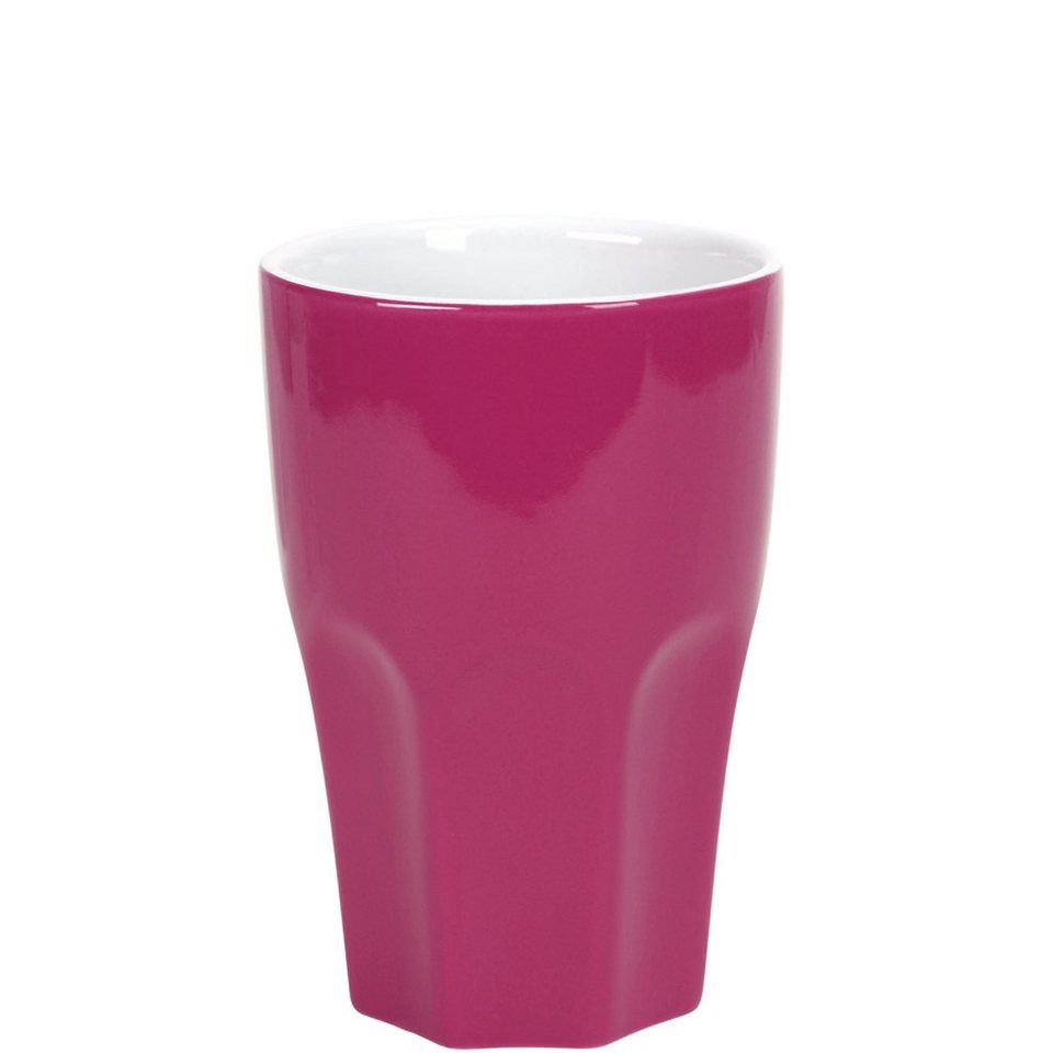 BUTLERS MIX IT! »Café Latte Becher« in pink