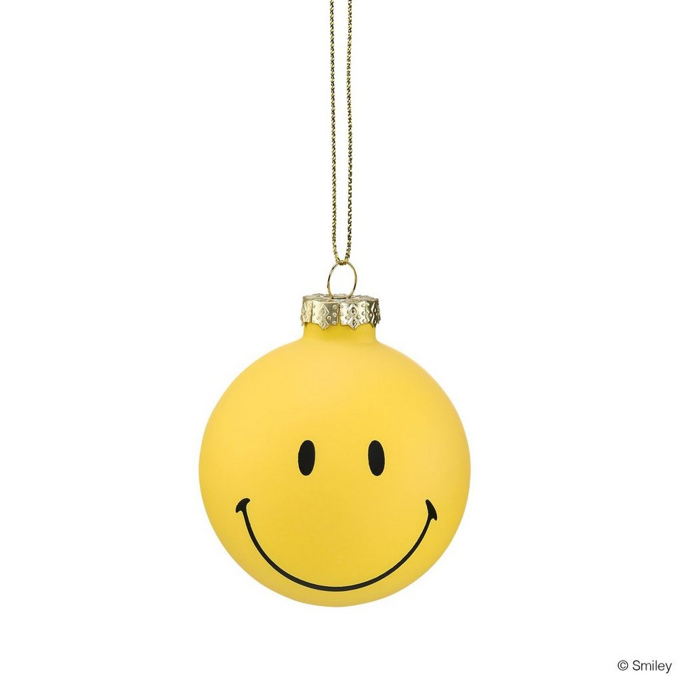 BUTLERS SMILEY »Glaskugel« in gelb
