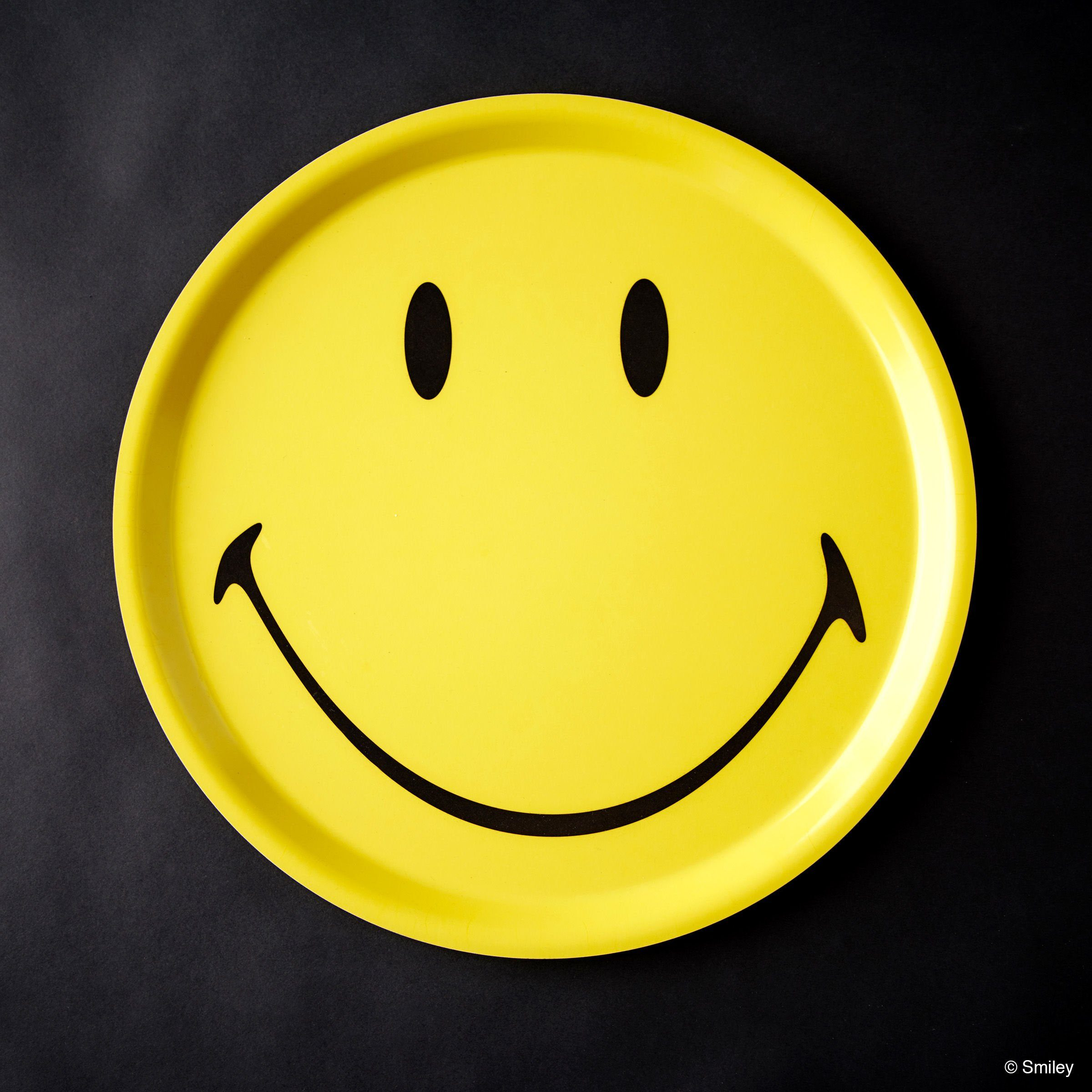 BUTLERS SMILEY »Tablett Smiley rund«