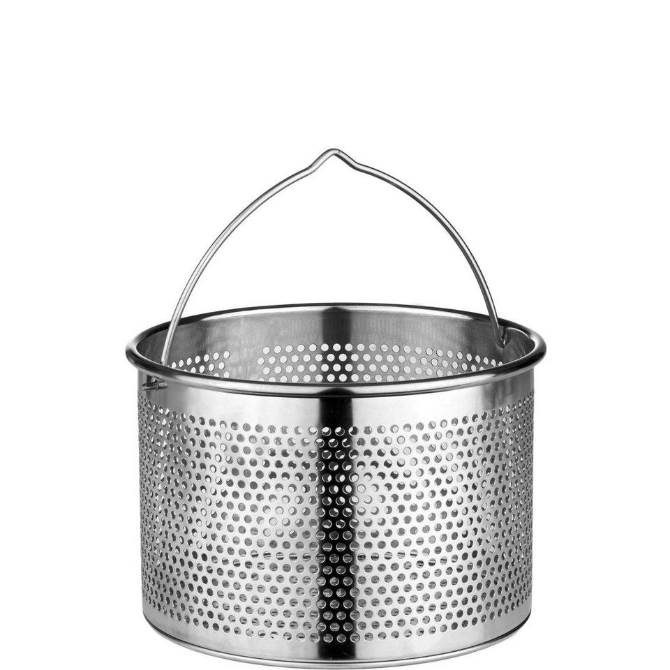 BUTLERS MENUETT »Besteckkorb« in Silber