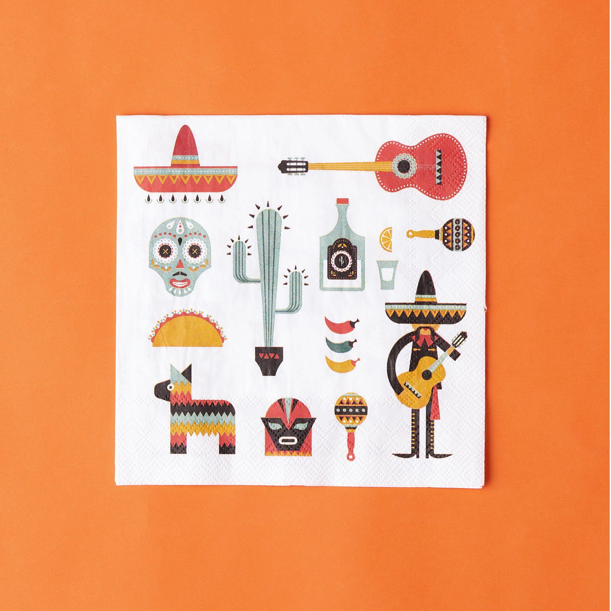 BUTLERS APRÈS »Papierserviette Mexiko«