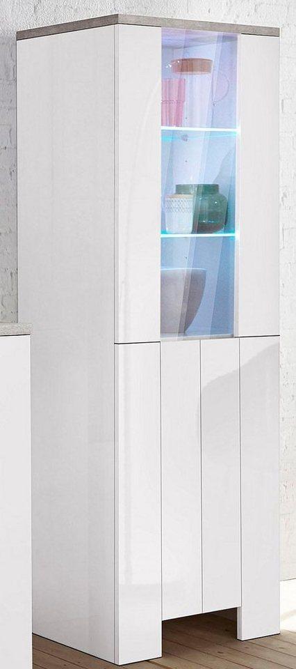 tecnos vitrine h he 170 cm 1 t r online kaufen otto. Black Bedroom Furniture Sets. Home Design Ideas