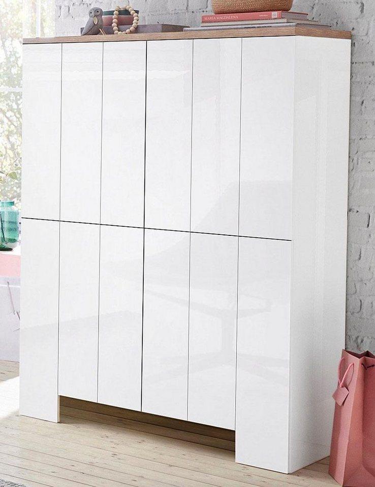 highboard wei 90cm bestseller shop f r m bel und einrichtungen. Black Bedroom Furniture Sets. Home Design Ideas